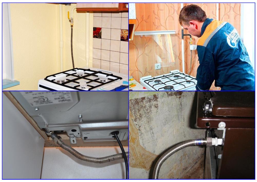 Сильфонная подводка для газа типы и варианты установки.