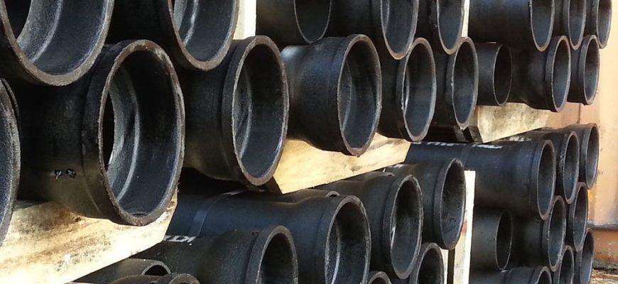 Чугунная канализация - составные части, плюсы и минусы.