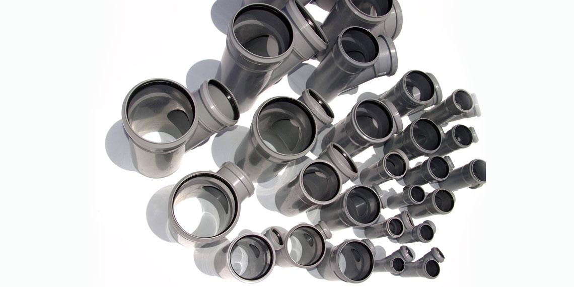 Фасонные части канализационных труб.