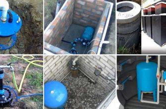 Обвязка скважины для индивидуального водоснабжения.