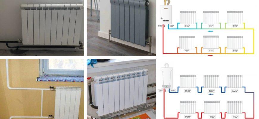 Однотрубная система отопления - плюсы и минусы, схемы, монтаж.