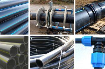 ПНД труба - процесс производства, применение, способ стыковки, монтаж