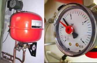 Почему растет давление в системе отопления.