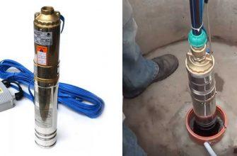 Подключение глубинного насоса к системе водоснабжения.