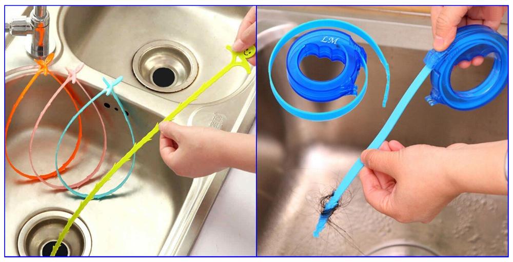 Тросы для прочистки бытовой канализации.