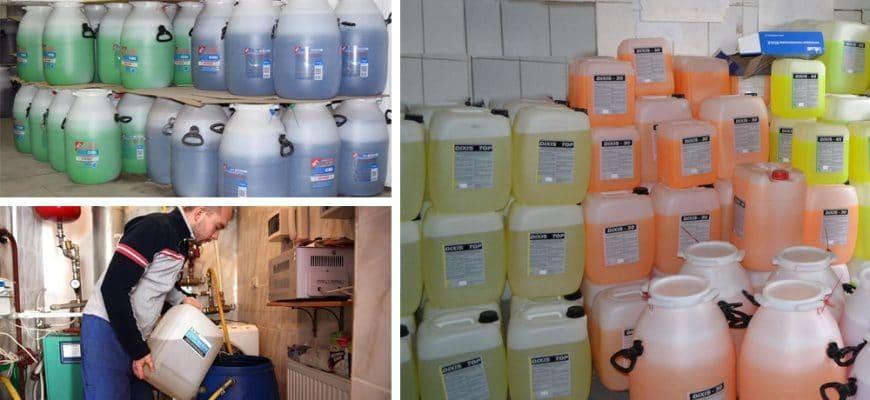 Незамерзайка для системы отопления частного дома - виды, свойства