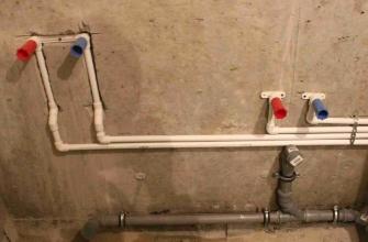 Как проложить трубы в ванной комнате своими руками