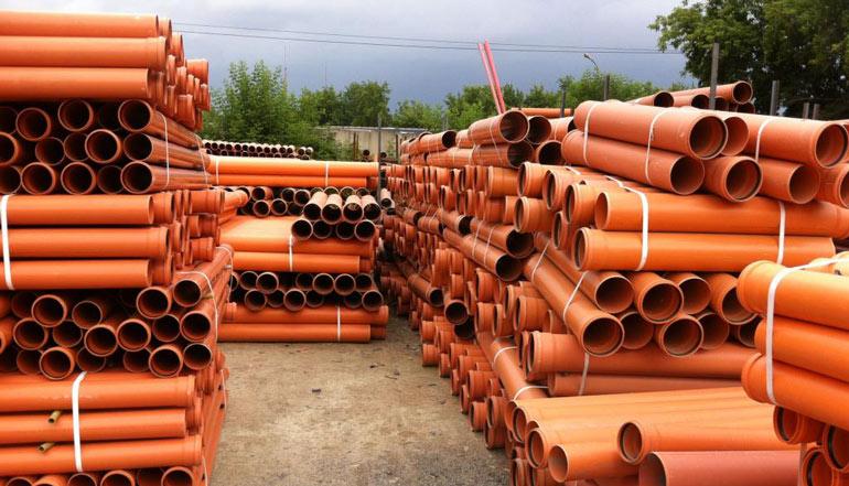 Размеры и виды канализационных труб из ПВХ